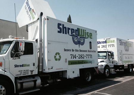 Recurring Mobile Shredding Services
